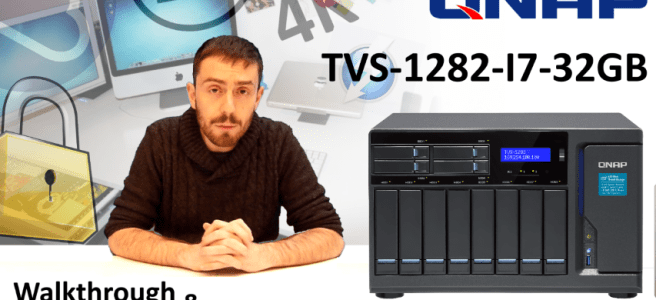 The QNAP TVS-1282-i7-32G 12-Bay (8+4 Bay) NAS Unboxing and Walkthrough.  Is there the most Powerful NAS yet