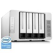 TerraMaster F4-220 NAS Server 4-Bay Intel Dual Core 2.41GHz 2GB RAM Network RAID Storage Enclosure HDD and SSD