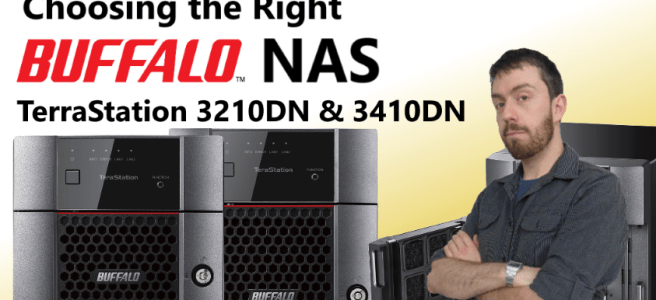 The Buffalo TeraStation Series Featuring the 3210DN and 3410DN NAS - The TeraStation 3010 Series 2-Bay and 4-Bay NAS