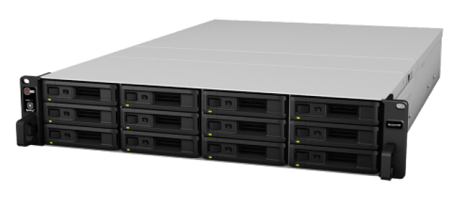 Synology 12-Bay RX1217 RackStation NAS Expansion Walkthrough and Talkthrough 1