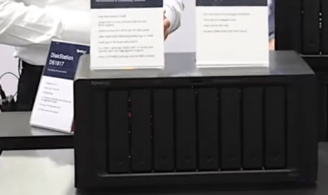The Synology DS3018xs 6-Bay, FS1018 10-Bay Flash, DX517 5-Bay Expansion and more 6