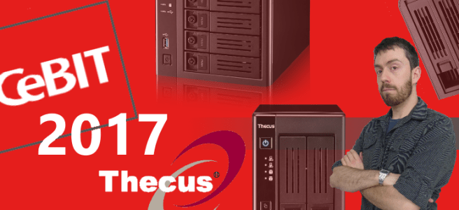 cebit 2017 for Thecus NAS