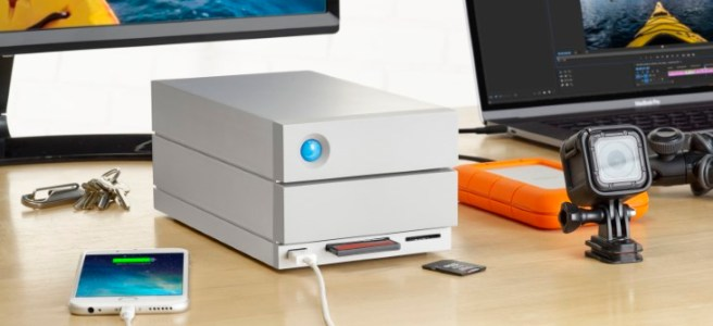 LaCie 2big Dock with Thunderbolt 3 2-Bay RAID solution for Mac and Windows 10