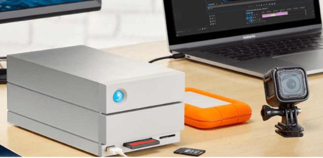 LaCie 2big Dock with Thunderbolt 3 2-Bay RAID
