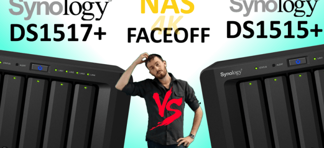 Synology DS1517+NAS versus Synology DS1515+ NAS - Old vs New, Which Synology deserves your data