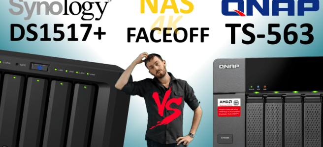 Synology DS1517+NAS versus qnap TS-563 NAS - Old vs New, Synology V QNAP