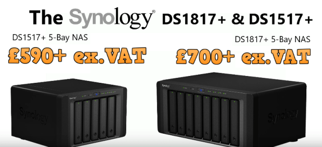 Synology DS1817+ Price Synology DS1517+ Price NAS