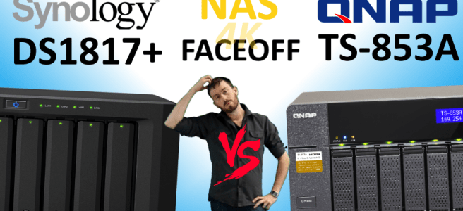 Synology DS1817+NAS versus QNAP TS-853A NAS - Old vs New, Synology V QNAP