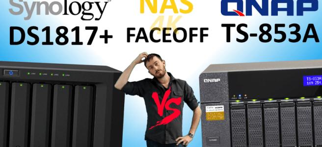 Synology DS1817+NAS versus QNAP TS-853A NAS - Old vs New, Synology V QNAP