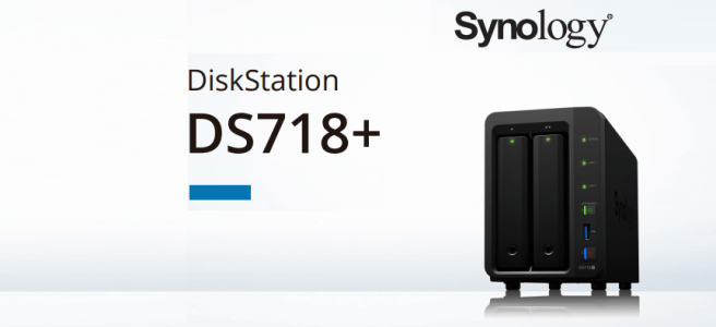 The Synology DS718+ 2-Bay Power NAS for 201718 Release
