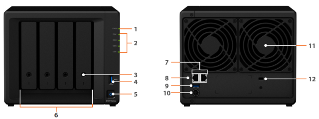 The Synology DS418PLAY 4-Bay Diskstation Multimedia NAS Server 3