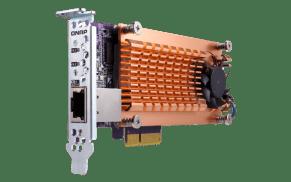 Update on the QNAP TS-453BT3 Thunderbolt 4-Bay NAS qm2-2s10g1t