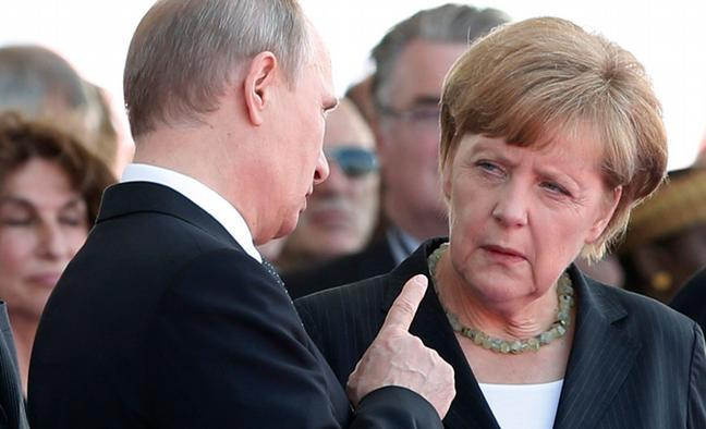 Меркель-Путін