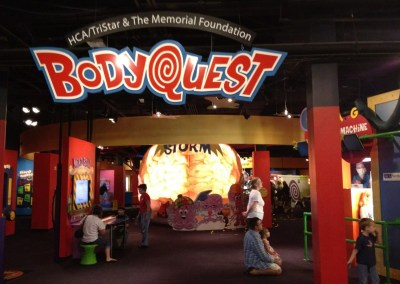 BodyQuest entrance on the second floor.