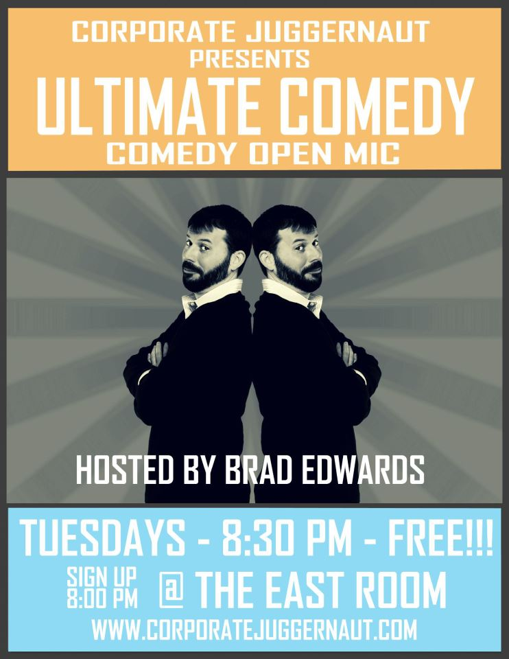 ULTIMATE COMEDY open mic