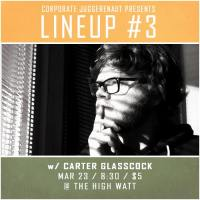 Carter Glascock at Lineup #3 comedy special taping at The High Watt - March 23, 2015