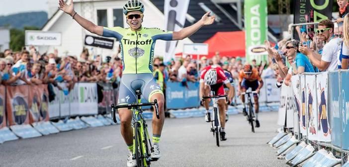 Michael Valgren wygrywa królewski etap Tour of Denmark