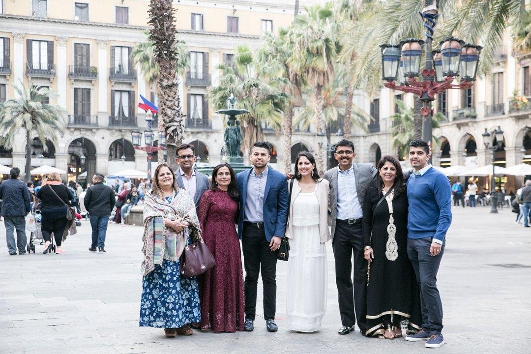 Barcelona family photo shoot