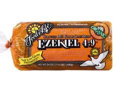 ezekiel bread, homemade, recipe, make at home, bread machine