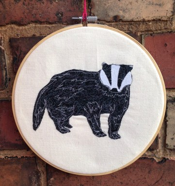 embroidery, freehand machine embridery