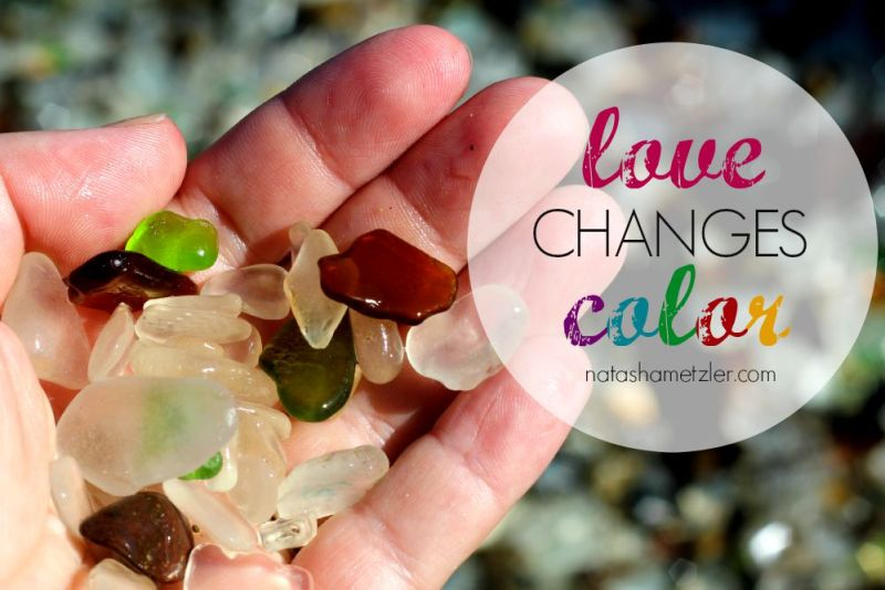 love changes color