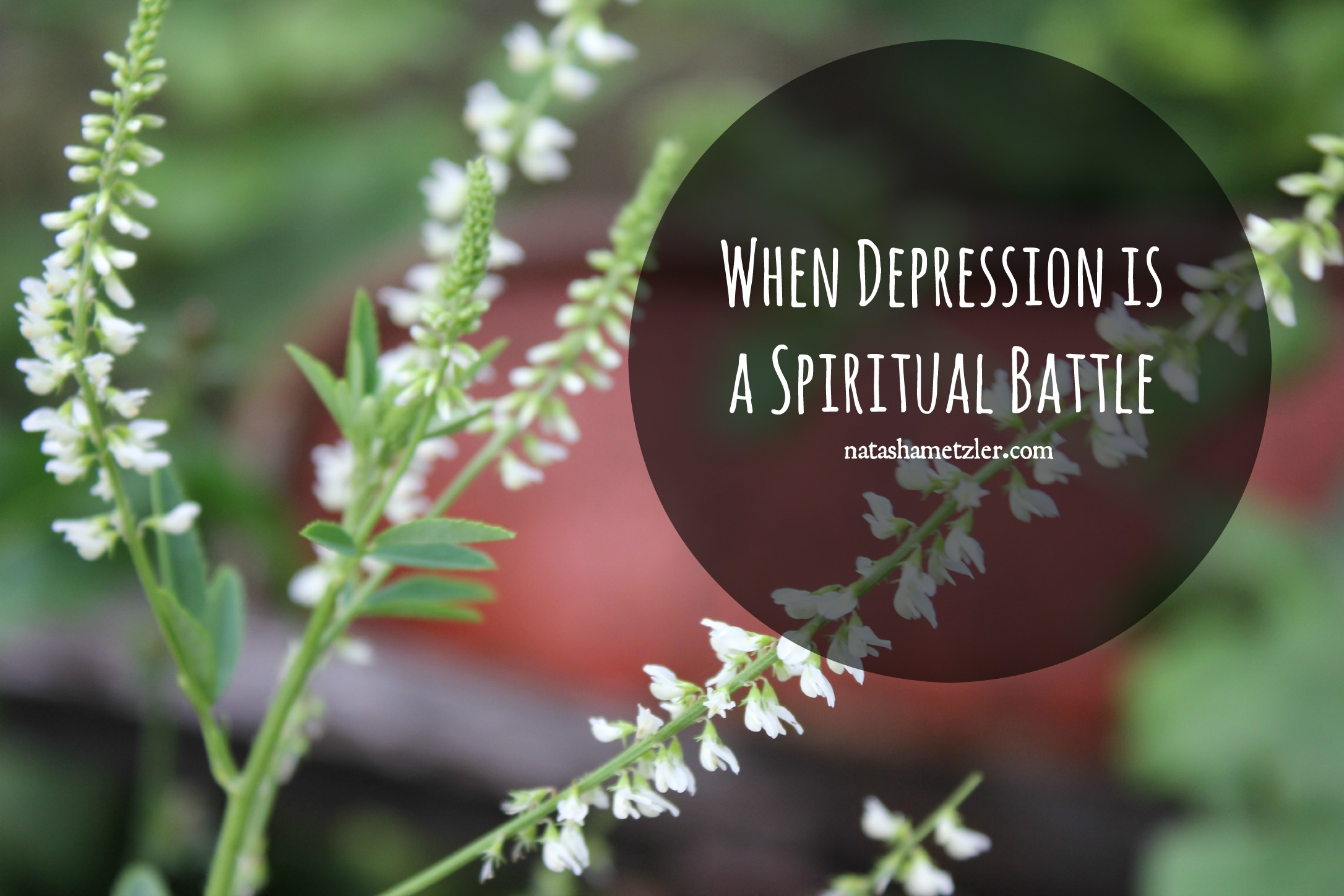 when depression is a spiritual battle
