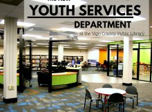 Check out the NEW Youth Services Department at the Vigo County Public Library!