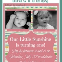 Make Your Own Invitations--Easy and Adorable Tutorial!