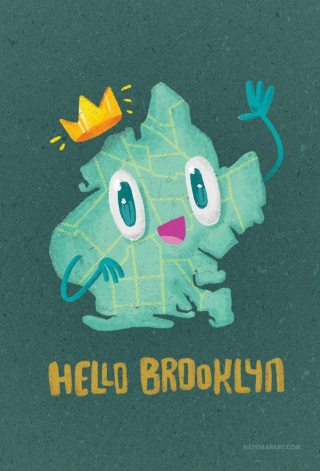 4x6postcard-BROOKLYN-MAP-1000h