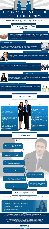87d986904520c4dc6b8aa0ffe0b81c47 Tricks and Tips for the Perfect Interview