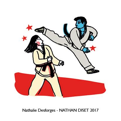 Nathalie Desforges jeu de cartes orthographe - Nathan Diset17