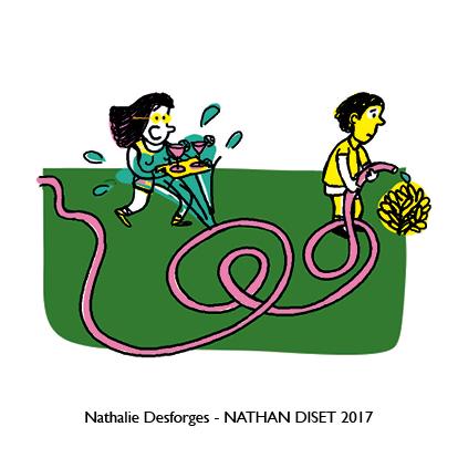 Nathalie Desforges jeu de cartes orthographe - Nathan Diset36