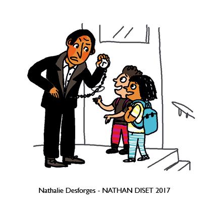 Nathalie Desforges jeu de cartes orthographe - Nathan Diset4