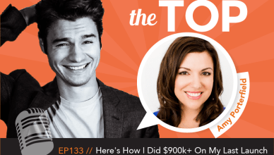 Amy Porterfield The Top Podcast Nathan Latka Episode 133