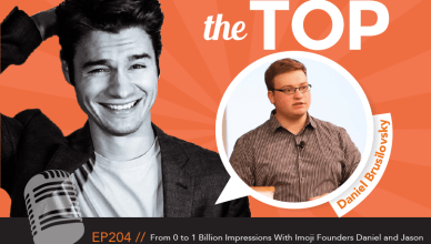 Daniel Brusilovsky The Top Podcast Episode 204