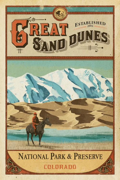 Great_Sand_Dunes_poster_national_park_quest