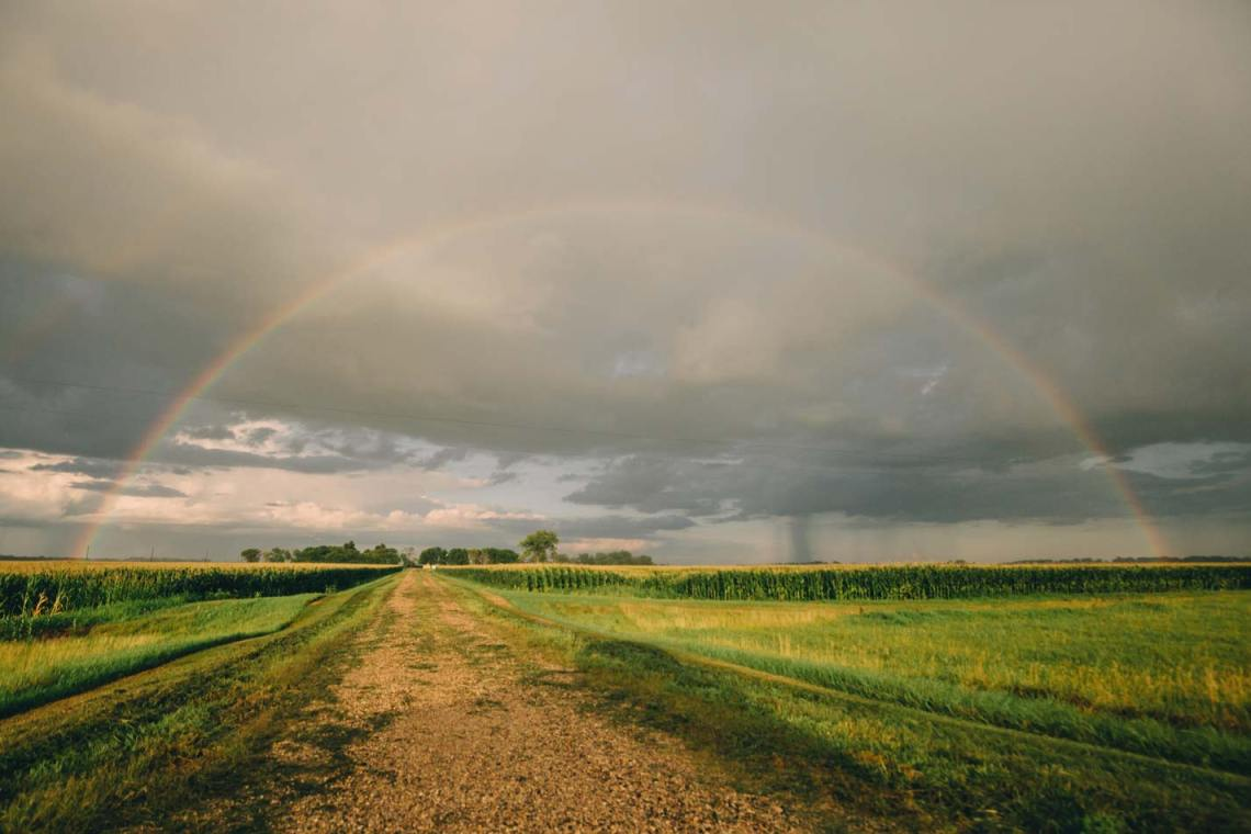 green_Fire_is_dying_national_park_quest_rainbow