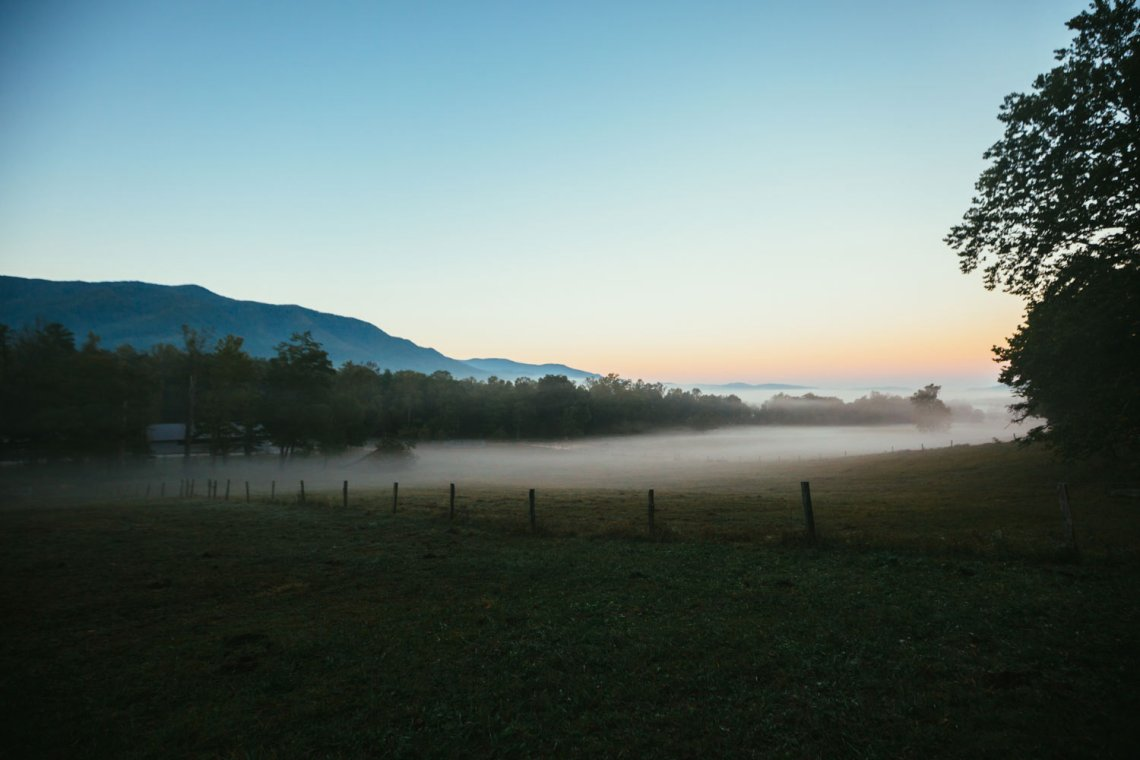 cades_cove_no_car_loop_field_national_park_quest_sunrise