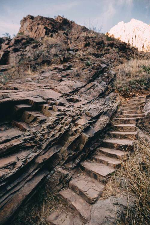 three_birds_three_trails_big_bend_window_trail_stone_stairs