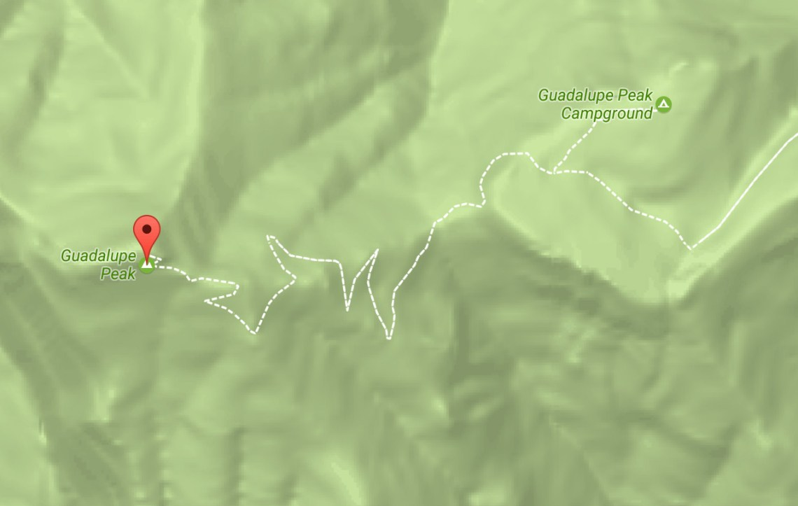 guadalupe_mountains_map_trail