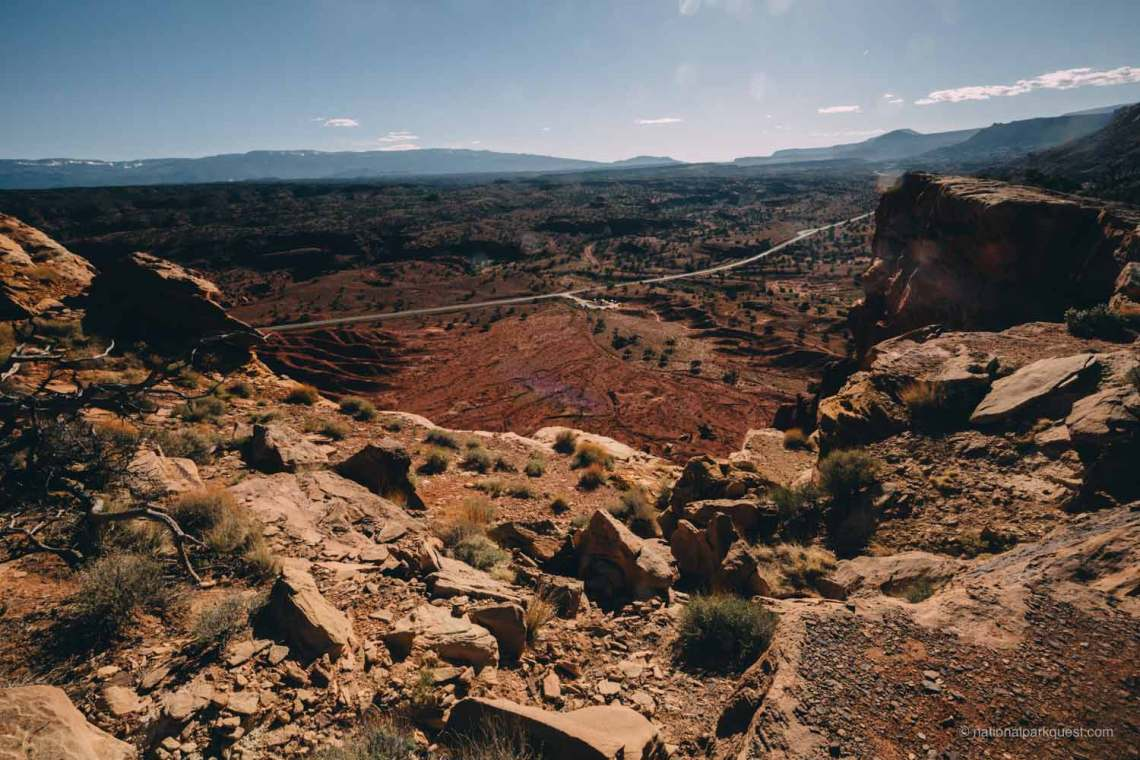 7_capitol_reef_national_park_facts_road