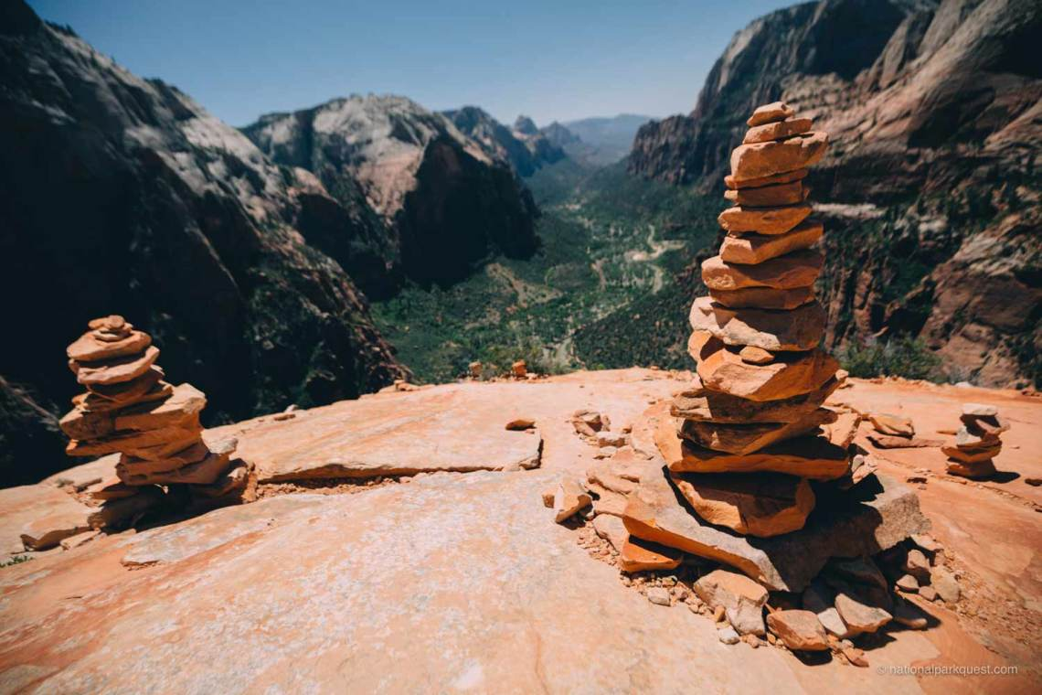 magical_trails_zion_national_park_quest_cairn