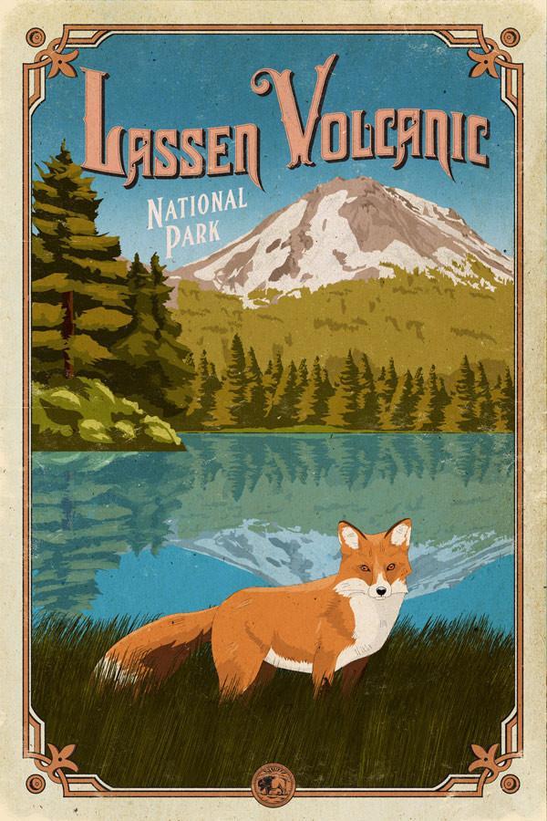 Lasse_Volcanic_poster_national_park_quest