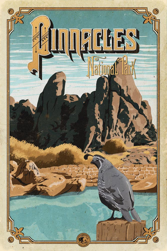 Pinnacles_poster_national_park_quest