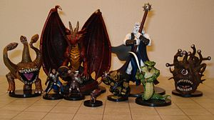 Fine art D&D figurines used to stop gay talk before it can even happen.