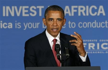 President Obama Takes Questions During Tanzania Business Forum Today