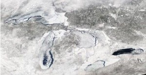 Great Lakes Freeze