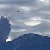 UFO in the vicinity of the Popocatepetl volcano