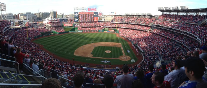 Nationals Park on Opening Day April 6, 2015