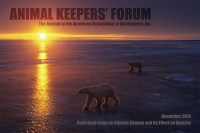 Cover of 2010 December Animal Keepers' Forum